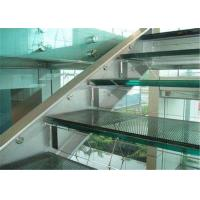 China Commercial Building 10mm Laminated Glass , Clear / Colored Decorative Laminated Glass wholesale