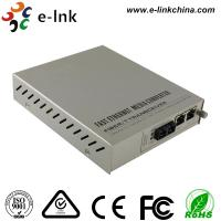 China Managed Gigabit Ethernet Fiber Media Converter 2- Port 10 / 100 / 1000Base-T to 1000 Base-X wholesale