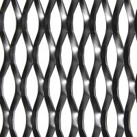 China Aluminum Mesh Expanded Lattice Building Facade And Ceiling Decorative on sale