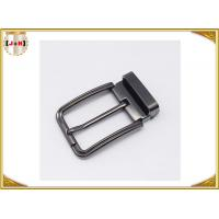 China Customized Reversible Metal Belt Buckle With Drum / Garment Accessory wholesale