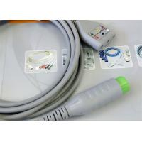 Quality Compatible 12 Pin ECG Monitor Cable , Patient ecg trunk cable For Hospital for sale