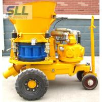 Quality Convenient Operation Concrete Spraying Machine For Dry / Damp / Wet Concrete Spray for sale
