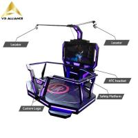 Quality 9d Standing Platform Virtual Reality Equipment for Theme Park for sale
