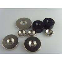 China neodymium countersunk magnet/ndfeb magnet with countersunk/scew hole wholesale