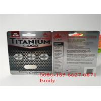China Customized Logo Blister Card Packaging PET Material For Male Enhancement Pills wholesale