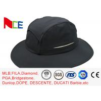 China Summer Camping Climbing Fisherman Outdoor Boonie Hat / ACE Black Bucket Hat wholesale
