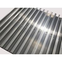 Buy cheap High Performance Aluminum Extrusion Fabrication Polishing 6063-T5 With 2 Meter from wholesalers