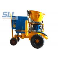 China Convenient Operation Concrete Spraying Machine For Dry / Damp / Wet Concrete Spray wholesale