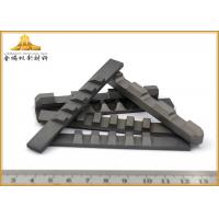 China High Efficiency Tungsten Carbide Cutting Tools , Impact Wear - Resistant Cemented Carbide Cutting Tool wholesale