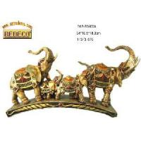 China Home Decoration Resin Elephant Figurine (70500-A) wholesale