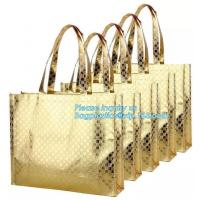 China Custom wholesale ultrasonic heat sealed non woven tote bag,full-auto machine made non woven bag for shopping, bagease on sale