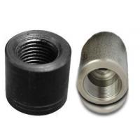 China Seamless Round Alloy Steel Pipe Fittings Nickel Alloy Coupling High Tensile Strength on sale