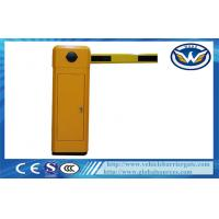 China Highway Toll Collection Drop Arm Barrier , Automotive Access Control Parking Lot Barrier Gates wholesale