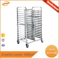 stainless steel liquor trolley series B-078