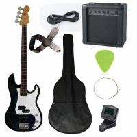 China 43 inch Electric Bass Guitar Kit Four String with JB Classic Bridge AGB43-HB2 wholesale