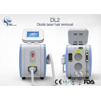 China 125J/cm2 Microchannel Cooling Diode Laser Hair Removal Permanent Painless wholesale