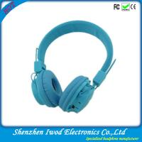China 2014 hot sale promotion electronic product fashionable bluetooth headphone with TF card and FM radio wholesale