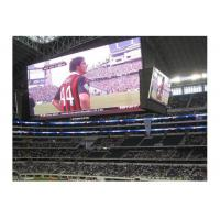 China Large stadium cabinet screen  P8 outdoor  full colour  Led display  for advertising  usage football scoreboard wholesale