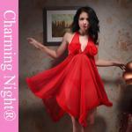 Long Skirt Transparent Fur Edge honeymoon nightwear for women , ladies