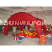 China Custom UL fire resistance Nylon Inflatable Tent For exhibition With Brand printing wholesale
