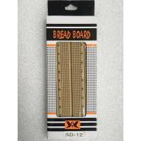 China 840 Point Light Brown Electronic Breadboard Circuits Projects For Beginners wholesale