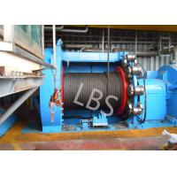 China 10T 20T Hydraulic Windlass Winch With Lebus Grooving Drum Eco Friendly wholesale