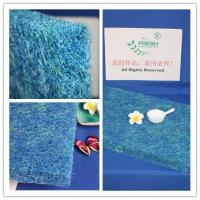 China Irregular Hole Shape Air Filter Material Koi Pond Filter Pads 30mm Thickness on sale