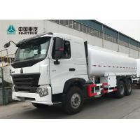 Buy cheap 21cbm Fuel Oil Truck , Transportation Oil Tanker Truck A7 371hp 6 X 4 from wholesalers
