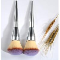 China Oval Cosmetic Foundation Brush 19 cm Total Length 4.5 cm Hair Length wholesale
