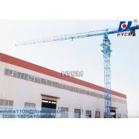 Quality QTZ100 PT6013 Flattop Tower Crane Tip load 1.3tons Max. Load 8tons for sale