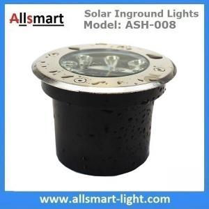 China Φ120x65mm Solar Paver Lights Solar Underground Lights Solar Brick Lights IP68 for Pathway Driveway Square Plaza wholesale