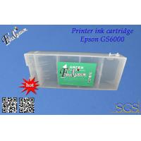 China BK C M Y LC LM OR GR 1800ML T6241 Refillable Cartridge For Epson Stylus Pro Print on sale