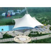 China Space Frame Park Shade Structures Sun Shelter Canopy For Park Area , Light And Spaciou Membrane Structure Without Wall wholesale