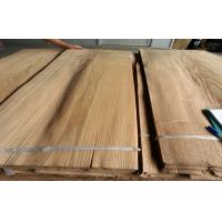 China 0.3 mm - 0.7 mm MDF Natural Ash Crown Cut Veneer ,Brown Ash Veneer on sale