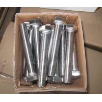 China 304 316 B8M Stainless Steel Screws Bolts M6 - M64 wholesale