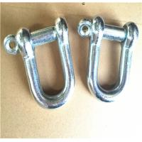 China Zinc Plated Rigging Hardware Japanese Type Dee Jis Shackle With Screw Pin wholesale