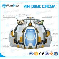 Buy cheap 4 Games Adventure Extreme Cinemas , 9D Action Vr Space Simulator Mini Dome from wholesalers