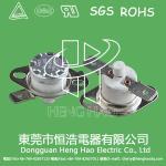 China KSD301 auto  reset thermostat,KSD301 thermal limited switch wholesale