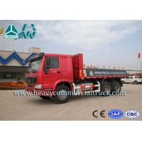 China Fast Speed Flat Bed Mining Dump Truck 6X4 Fuel Efficient Durable 371HP on sale