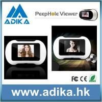 China Digital Peephole Viewer of Taking Photo wholesale