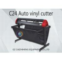 China Desktop Automatic Vinyl Cutter Printer Machine 24 Inch LED Vinyl Cutting Plotter wholesale