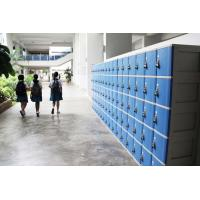 China ABS Material Keyless Plastic School Lockers 4 Comparts 1 Column Safety / Ventilation wholesale