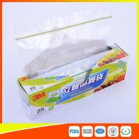 China Food Grade Freezer Zip Lock Bags / Zip Top Freezer Bags Customized Printed wholesale