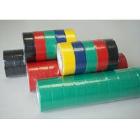 Quality Colorful PVC Electrical Tape / Rubber Electrical Tape ISO SGS ROHS Certificate Approved for sale