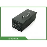 China Metal Case Rechargeable Portable Camping Battery Deep Cycle 185*140*80mm wholesale