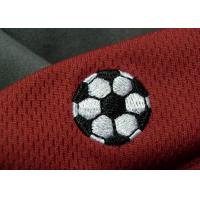 China Tatami Material Clothing Brand Embossed Patch For Soccer Team wholesale