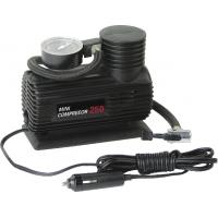 China Mini Plastic Portable Electric Air Compressor For Car Tires With Black Handy wholesale