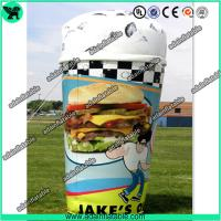 China Customized Advertising Inflatable Icecream Cup Replica Model wholesale