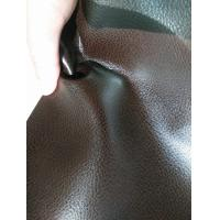 China Furniture Perforated Suede Fabric Durable Full Grain Cow Leather wholesale