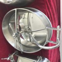China Stainless Steel Oval Inward Opening Manway Covers Designer for Food, Beverage Equipment wholesale